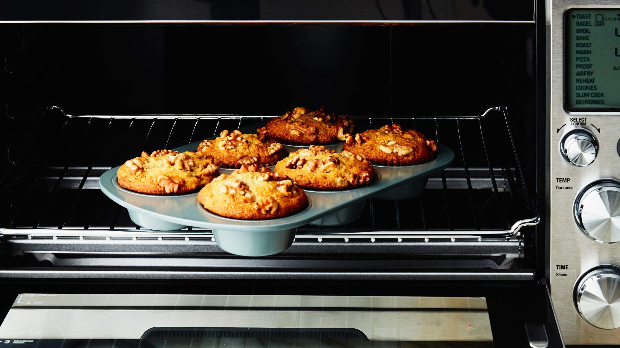 Bake Cakes, Muffins in toaster oven