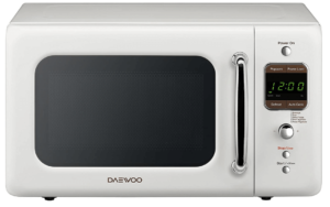 Daewoo Retro 0.7 Cu. Ft. Microwave Oven
